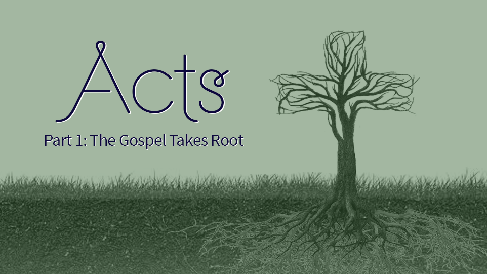 Acts Part 1: The Gospel Takes Root